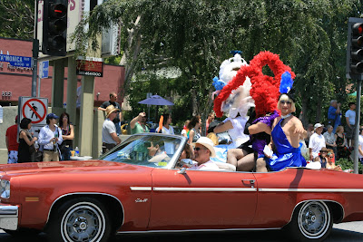 West Hollywood Gay Pride and joy Parade 2008
