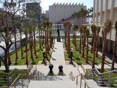 B Gerald Cantor sculpture Garden at LACMA, Wilshire Blvd