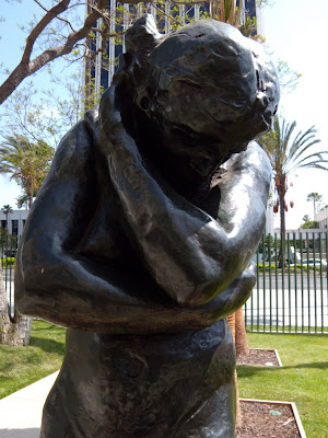 Eve by Auguste Rodin sculpture at LACMA