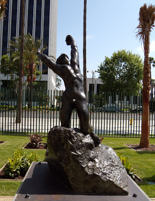Rodin's The Prodigal Son at LACMA Sculpture Garden