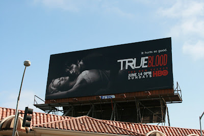 Trueblood season 2 TV billboard