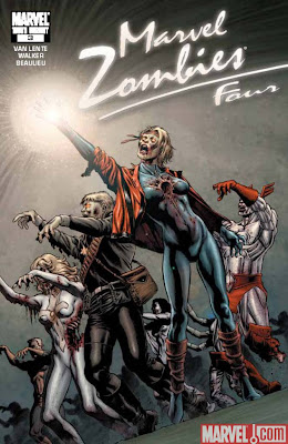 Marvel Zombies 4 Thriller variant decade cover