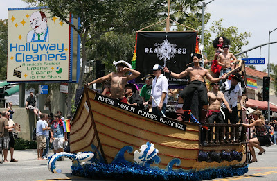 Playhouse Pirates at West Hollywood Gay Pride Parade 09