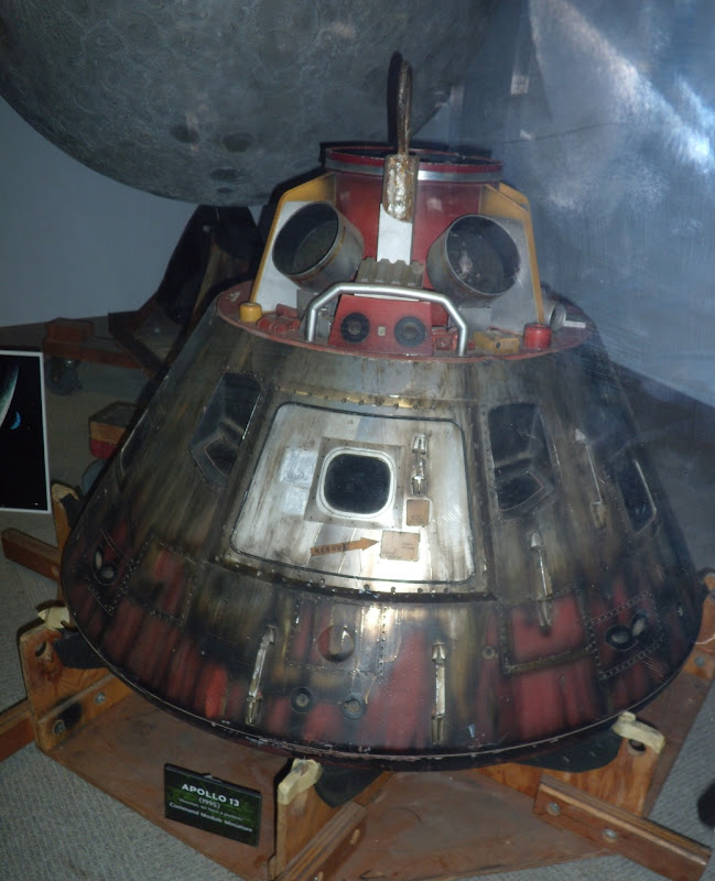 Apollo 13 Command Module Miniature