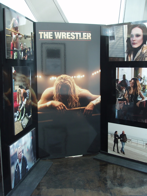 The Wrestler movie poster display at ArcLight Hollywood