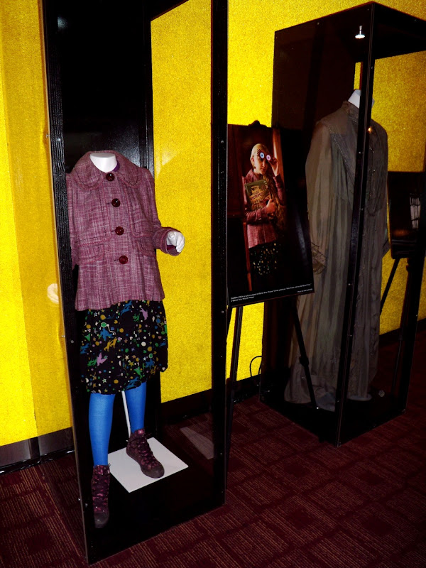Actual Luna Lovegood outfit and Professor Dumbledore robes