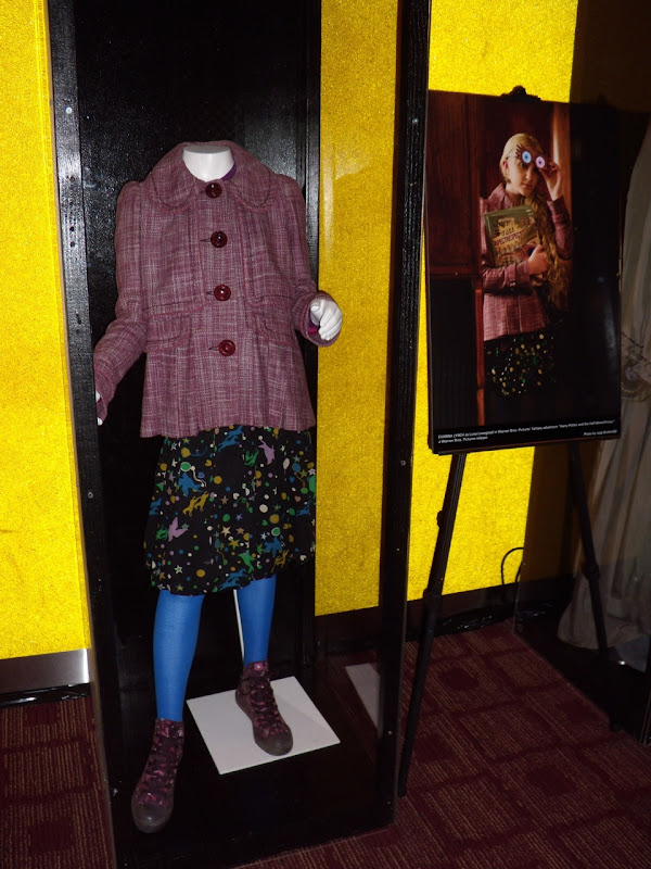 Luna Lovegood movie costume from Harry Potter 6