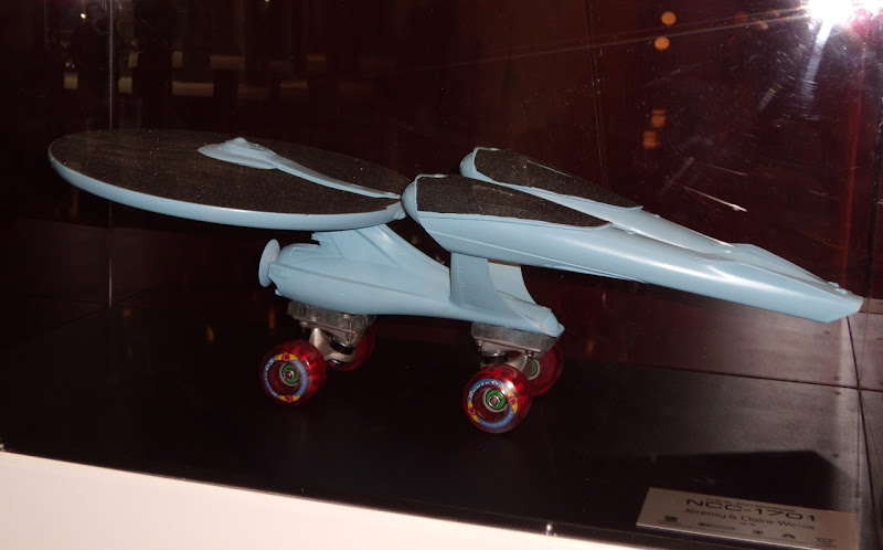 Star Trek Enterprise NCC-1701 Roller skate model replica