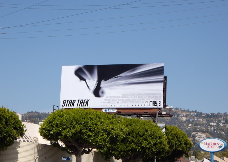 Star Trek Enterprise film billboard
