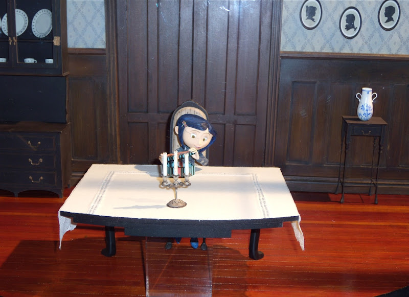 Original Coraline stop-motion animation puppet