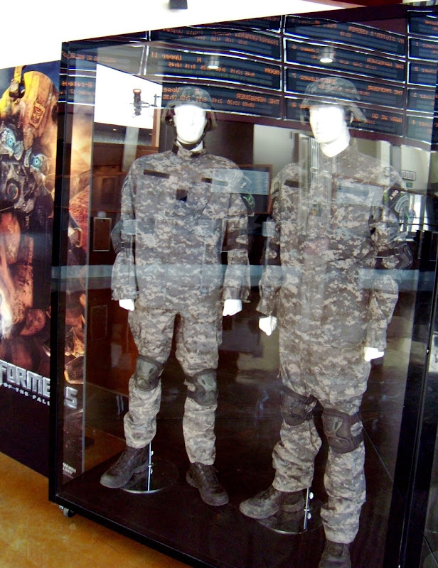 Original NEST uniforms from Transformers 2