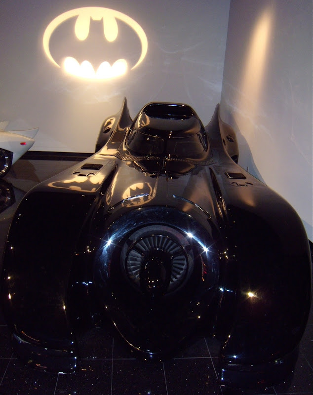 Tim Burton's 1989 Batmobile movie car
