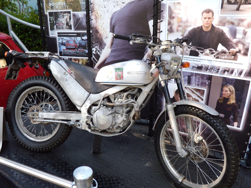 The Bourne Ultimatum original Honda motorcycle