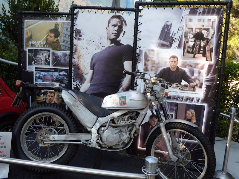 Matt Damon's Honda motorcycle from The Bourne Ultimatum