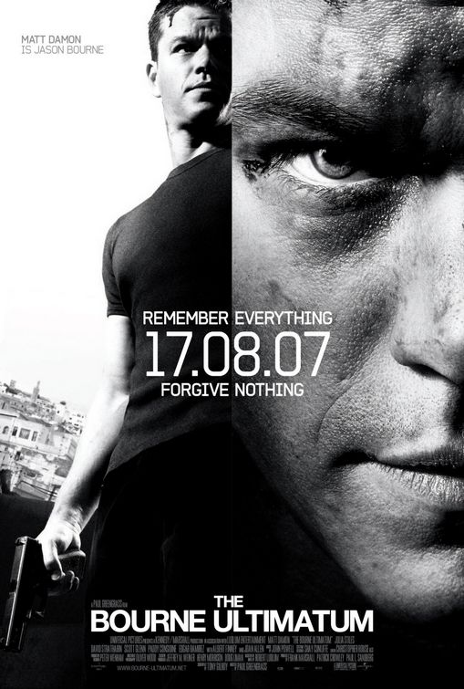The Bourne Ultimatum film poster