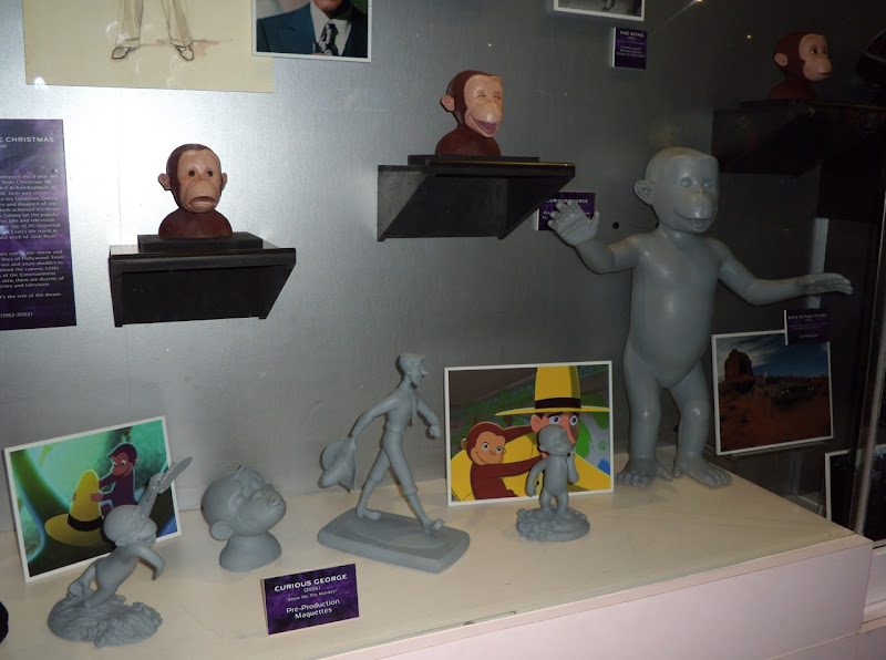 Curious George 2006 animation maquettes