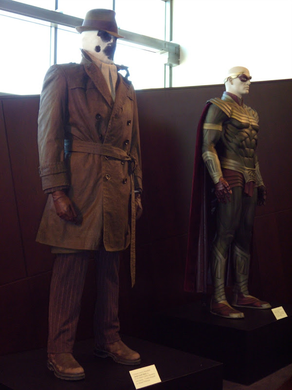 Rorschach and Ozymandius Watchmen movie costumes
