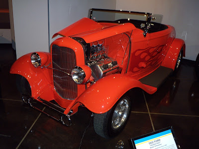 1932 Ford Orange Twist roadster