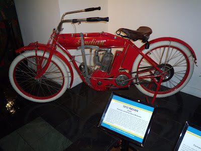 Steve McQueen's 1912 Indian motorycle