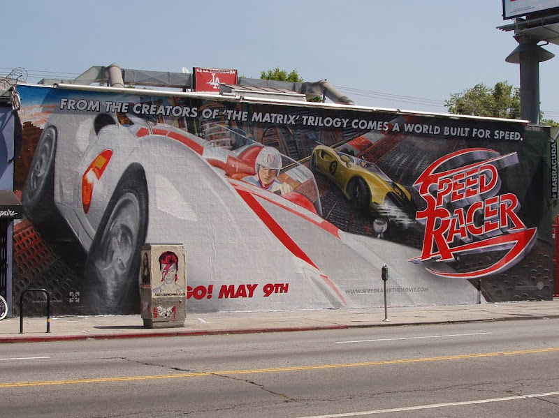 Speed Racer movie wall mural