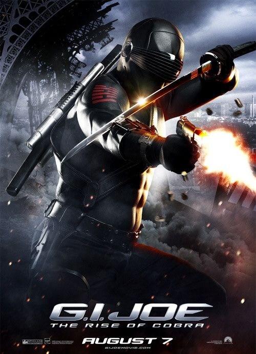 GI Joe Snake Eyes movie poster