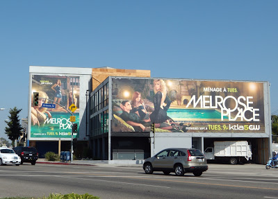 Melrose Place TV launch party billboards