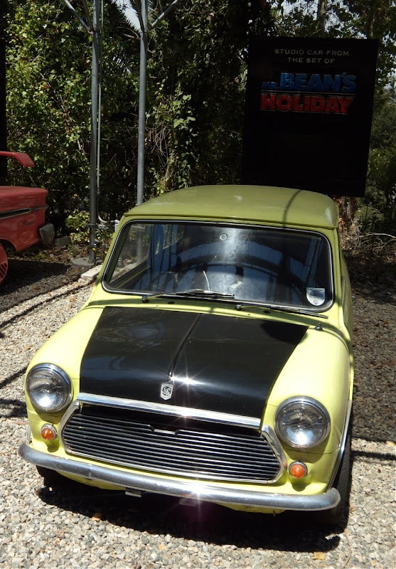Mr Bean's Holiday Mini movie car