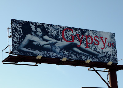 Racy Gypsy fashion billboard