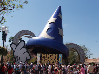 Mickey Hat and High School Musical Parade