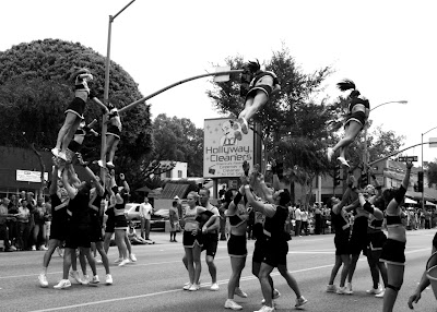 CHEER LA at West Hollywood Gay Pride Parade 09