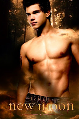 Taylor Lautner as Jacob in Twilight New Moon