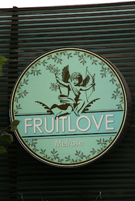 Fruitlove cupid angel sign