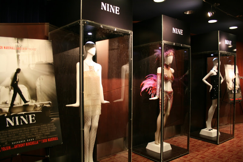 Authentic Colleen Atwood designed Nine movie outfits