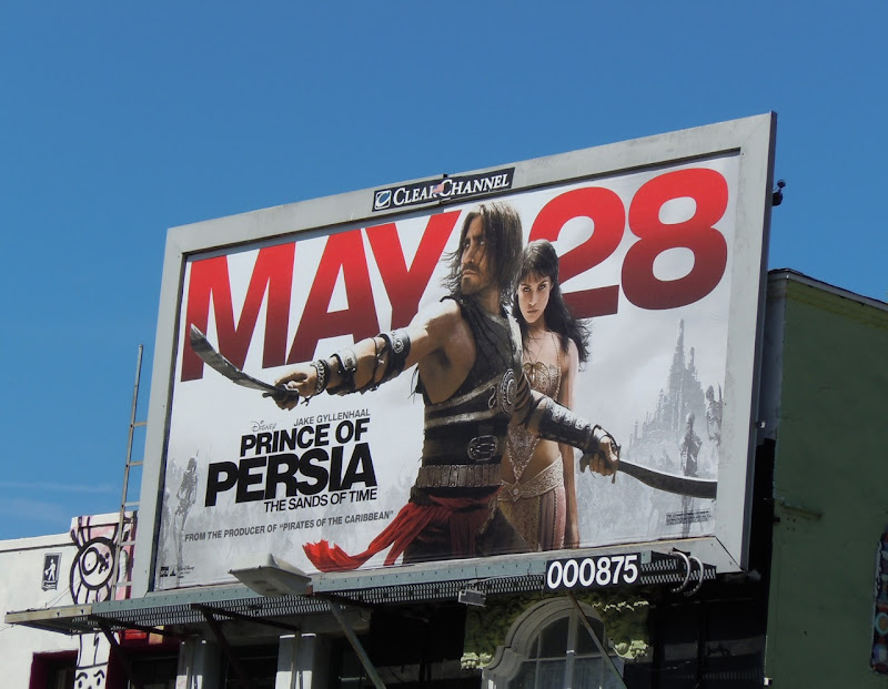 Prince of Persia film billboard