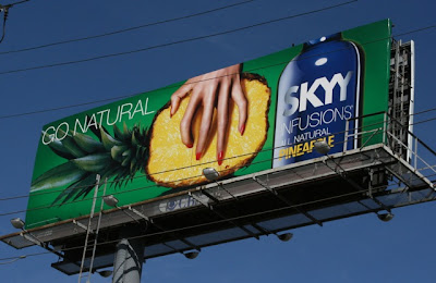 Skyy Vodka Pineapple billboard