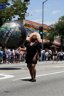 Glamour at West Hollywood Pride 2010
