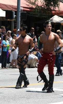 Hot Asians West Hollywood Pride 2010