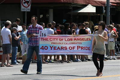 40 years Los Angeles Gay Pride Parade 2010
