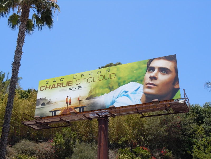 Zac Efron Charlie St Cloud movie billboard