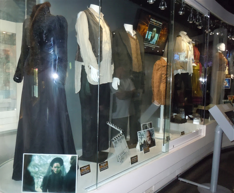 Universal Studios actual movie costumes
