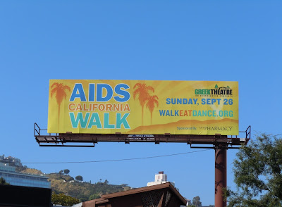 AIDS Walk California billboard