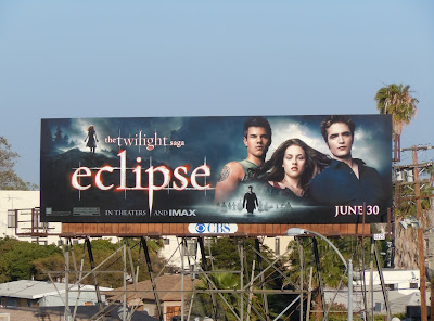 Twilight Eclipse movie billboard