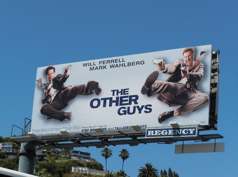 The Other Guys movie  billboard