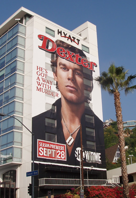 Dexter season 3 Rolling Stone cover billboard
