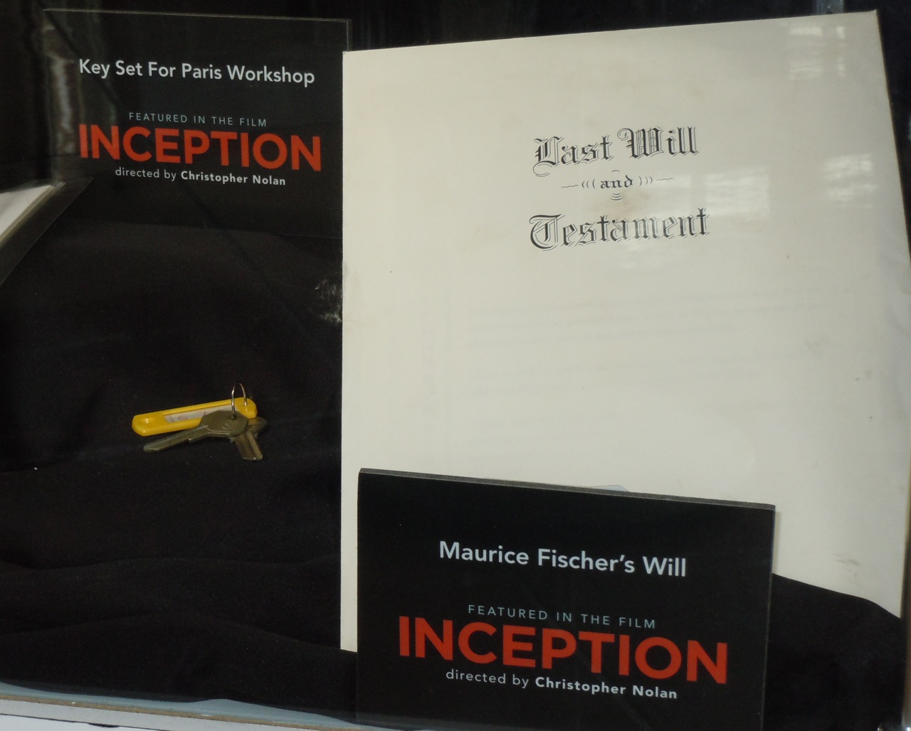 Hollywood Movie Costumes and Props Inception movie costumes worn by