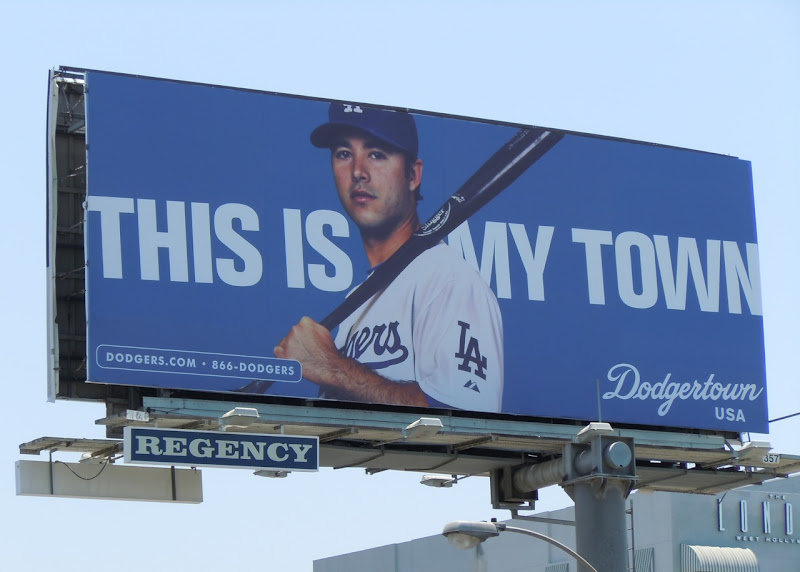 Dodgertown billboard