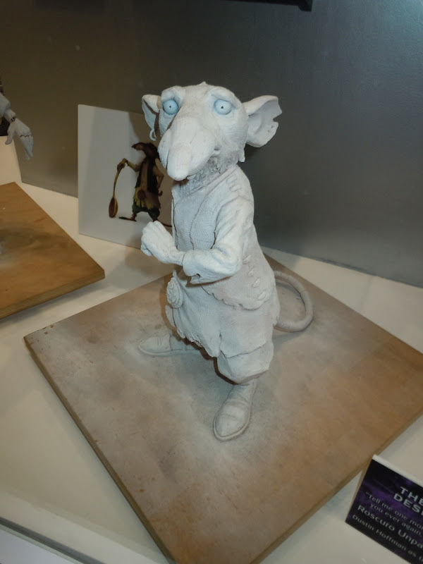 The Tale of Despereaux Roscuro maquette
