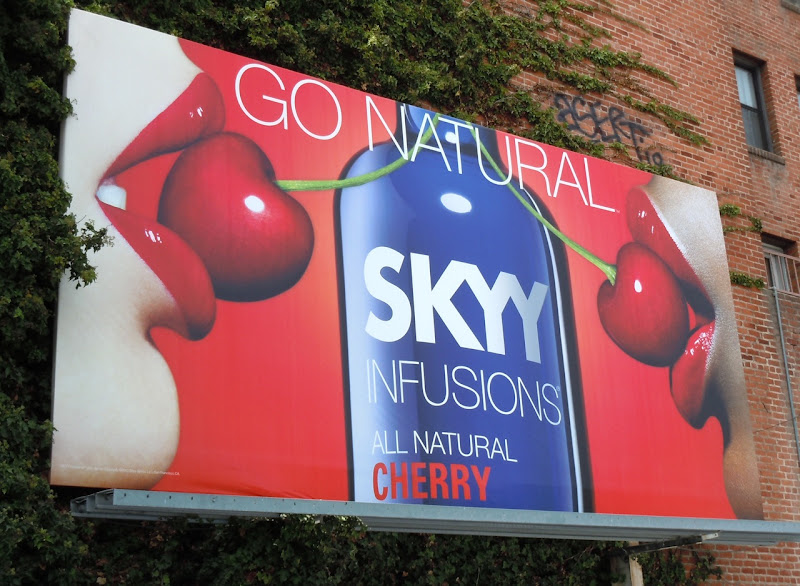 Skyy Infusions Cherry Vodka billboard