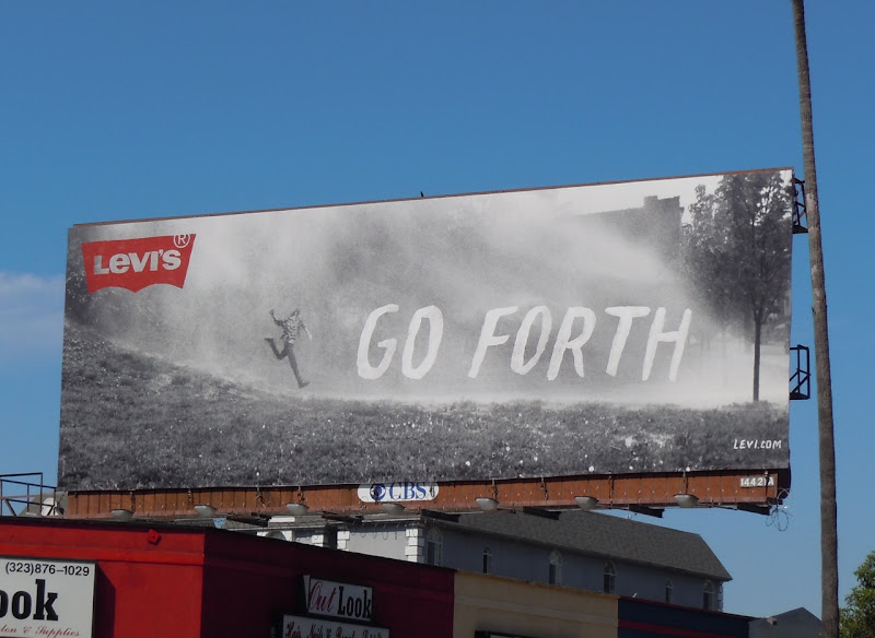 Levis Go Forth Jeans billboard