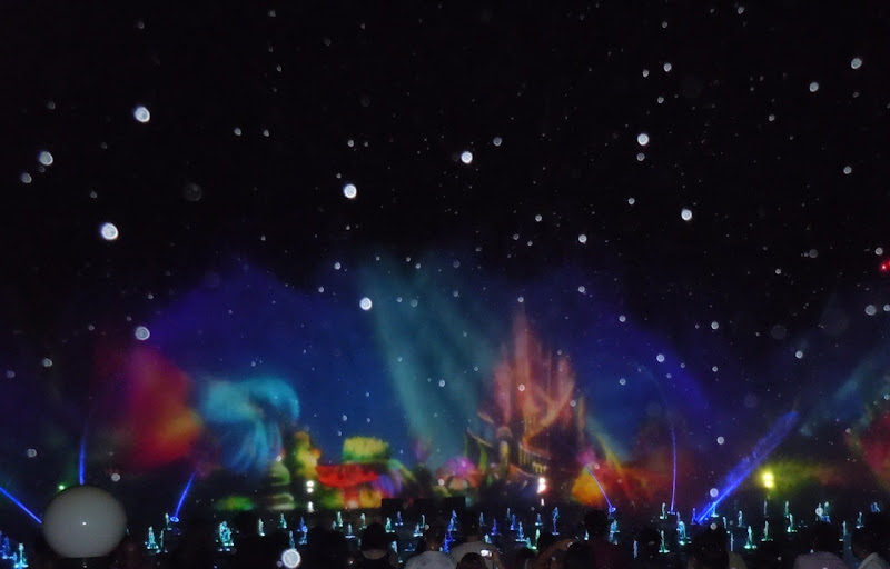 Disneyland World of Color spectacle